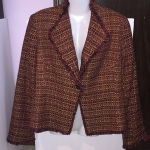 Fashion Bug multicolor blazer. Size Large.